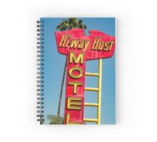 your hi-way host Spiral Notebook