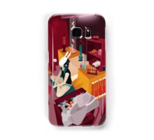 Crazy drugs Samsung Galaxy Case/Skin