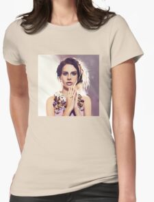 Lana del Ray Womens Fitted T-Shirt