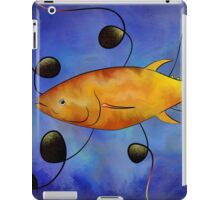 Tuorangossi V1 - orange tunafish iPad Case/Skin