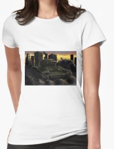 Rusty Tank Womens Fitted T-Shirt