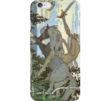 Ivan Bilibin - Russian Illustrator - Koshchey iPhone Case/Skin