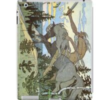 Ivan Bilibin - Russian Illustrator - Koshchey iPad Case/Skin