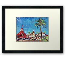 Hotel Del Coronado Picture, San Diego Framed Print