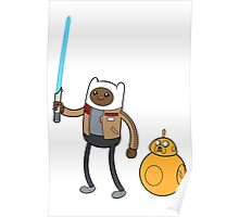 Finn and 8 Poster