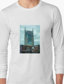 Bat Building  Long Sleeve T-Shirt