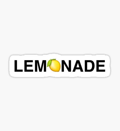 Beyoncé Lemonade Sticker