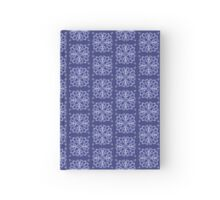 Blue Snowflake Hardcover Journal