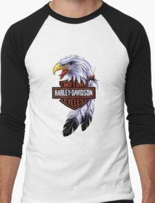 HARLEY-DAVIDSON CICLES Men's Baseball ¾ T-Shirt