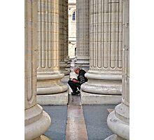 Between The Columns Photographic Print