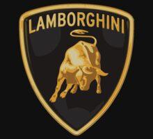 LAMBORGHINI LOGO CAR Baby Tee
