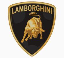 LAMBORGHINI LOGO CAR One Piece - Short Sleeve