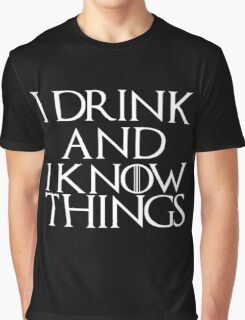 Tyrion Lannister Quote Graphic T-Shirt