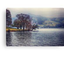 Rain at the Lake Canvas Print