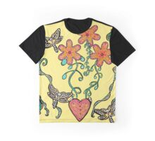 Tranquil Garden Graphic T-Shirt