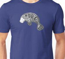 Florida Manatee Blue Unisex T-Shirt
