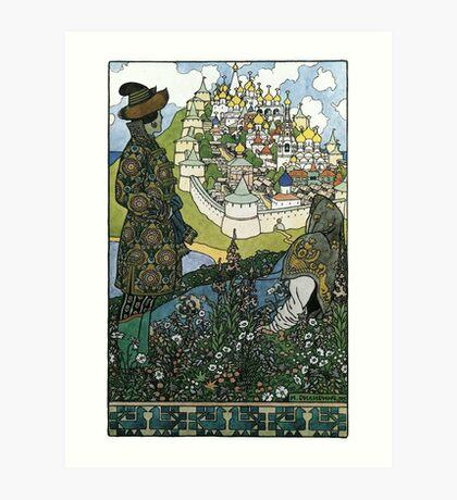 Ivan Bilibin - Island Art Print