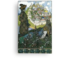 Ivan Bilibin - Island Canvas Print
