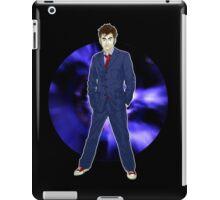The 10th Doctor - David Tennant iPad Case/Skin