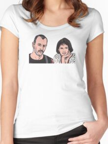 Leon and Mathilda Women's Fitted Scoop T-Shirt