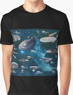 Star Trek Enterpries (All) Graphic T-Shirt
