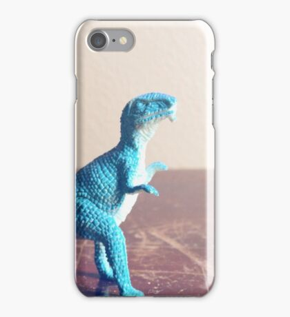 Blue Dinosaur  iPhone Case/Skin