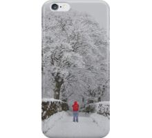 Heavy Snow in Haworth iPhone Case/Skin