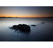 rhue sunset Photographic Print