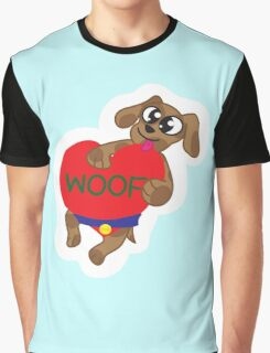 Woof Graphic T-Shirt