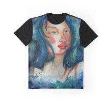 Woman in the Stars Graphic T-Shirt