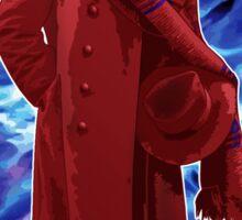 The 4th Doctor - Tom Baker Sticker