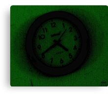 The Relative Clock Canvas Print