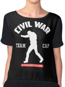 #YOUAREMYMISSION - TEAM CAP Chiffon Top