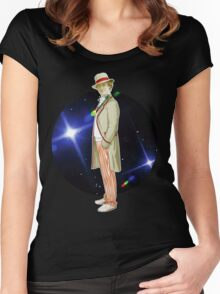 The 5th Doctor - Peter Davison Women's Fitted Scoop T-Shirt