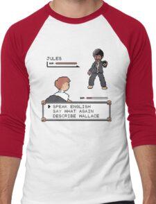 Pulp Fiction fight! Men's Baseball ¾ T-Shirt