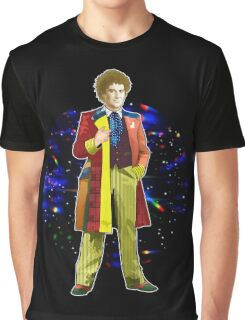 The 6th Doctor - Colin Baker Graphic T-Shirt