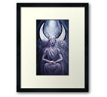 The High Priestess - Hecate Framed Print