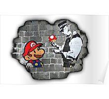Super Mario - mushrooms addicted Poster