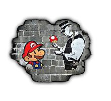 Super Mario - mushrooms addicted Photographic Print
