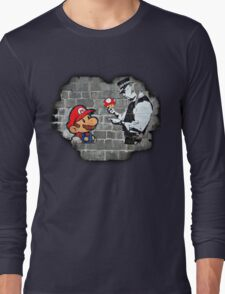 Super Mario - mushrooms addicted Long Sleeve T-Shirt