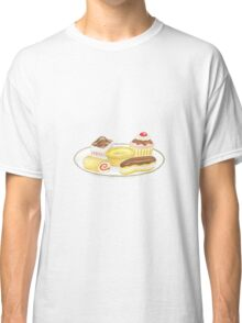 Plate of Cakes Classic T-Shirt