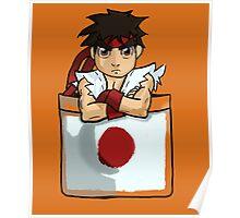 Street Fighter Pocket Pals - #1 Ryu Poster
