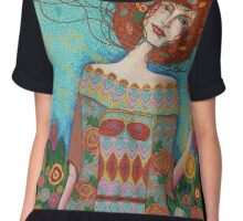 Garden of Life Chiffon Top