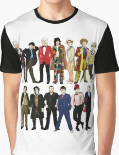 Doctor Who - Alternate Costumes 13 Doctors Graphic T-Shirt