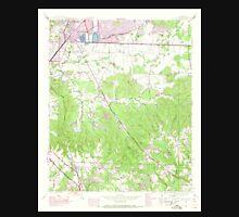 USGS TOPO Map Alabama AL Spruce Pine 305093 1945 24000 Unisex T-Shirt