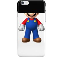 Censored SuperMario iPhone Case/Skin