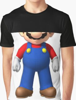 Censored SuperMario Graphic T-Shirt