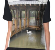 Day at the Zoo 3 Women's Chiffon Top