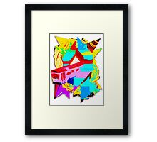 The Never Workbus. Framed Print