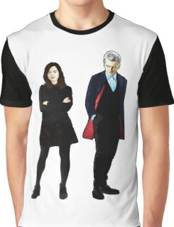 The Doctor and Clara Graphic T-Shirt